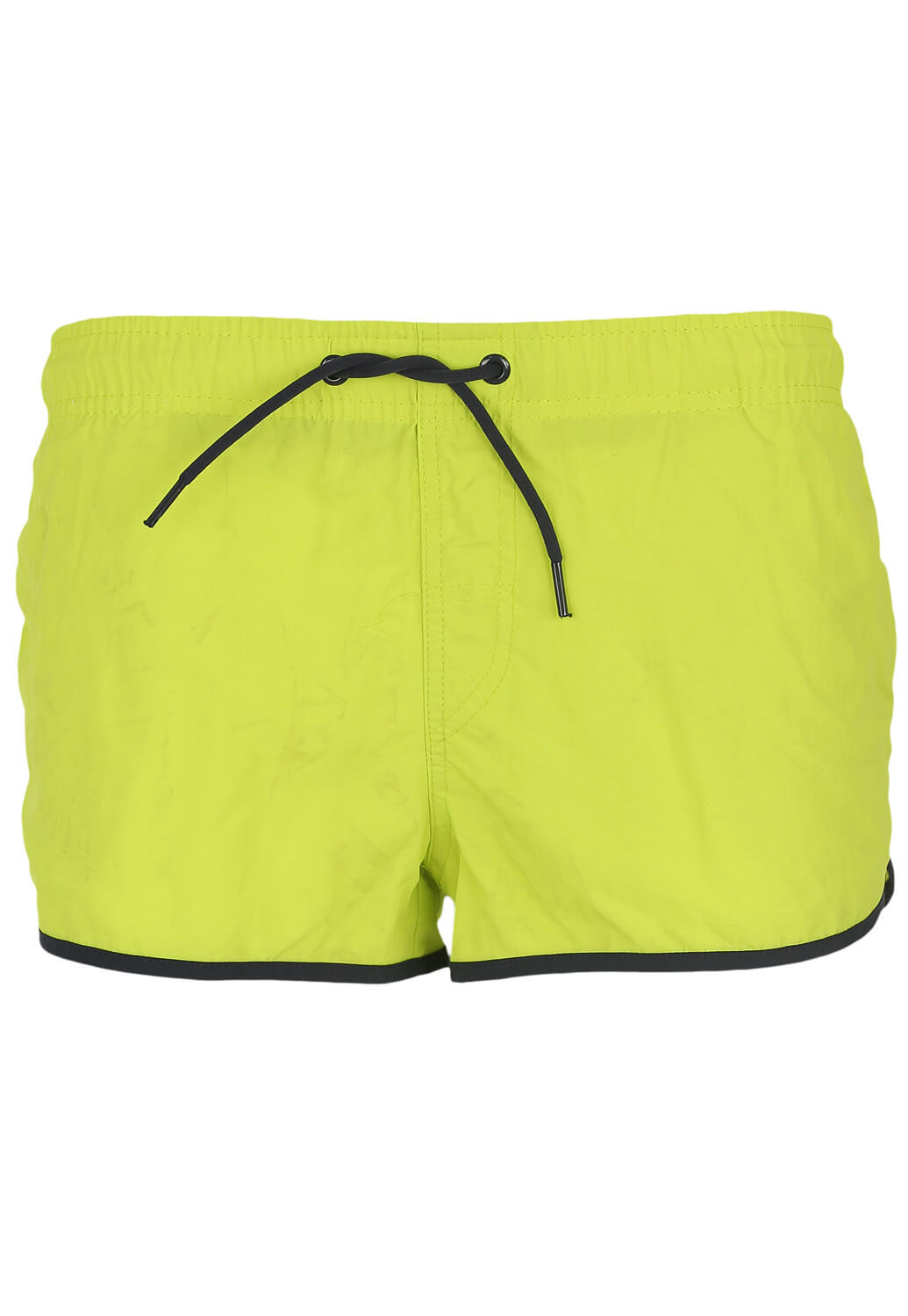 Pantaloni scurti de baie Bershka Carros Light Green