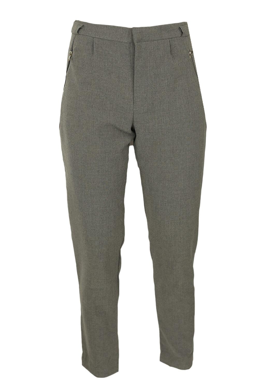 Pantaloni de stofa Bershka Jodi Grey