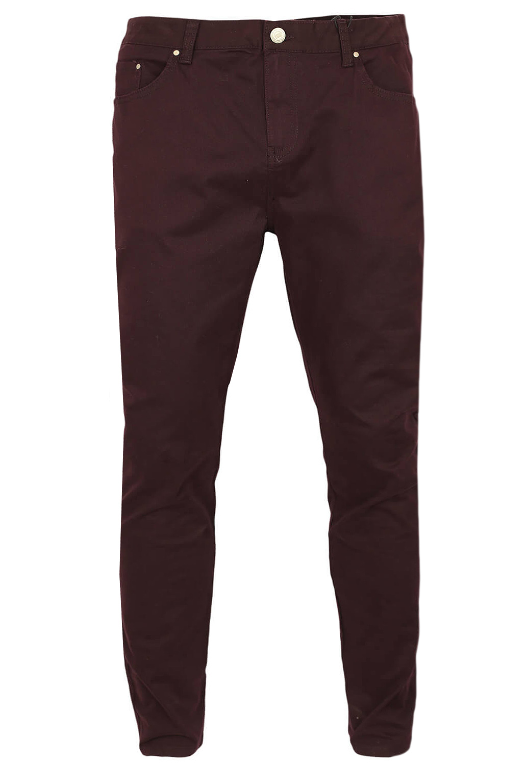 Pantaloni Bershka Basic Dark Purple