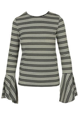 BLUZA ZARA IRENE BLACK AND WHITE