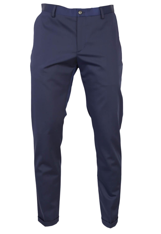 Pantaloni de stofa ZARA Chas Dark Blue
