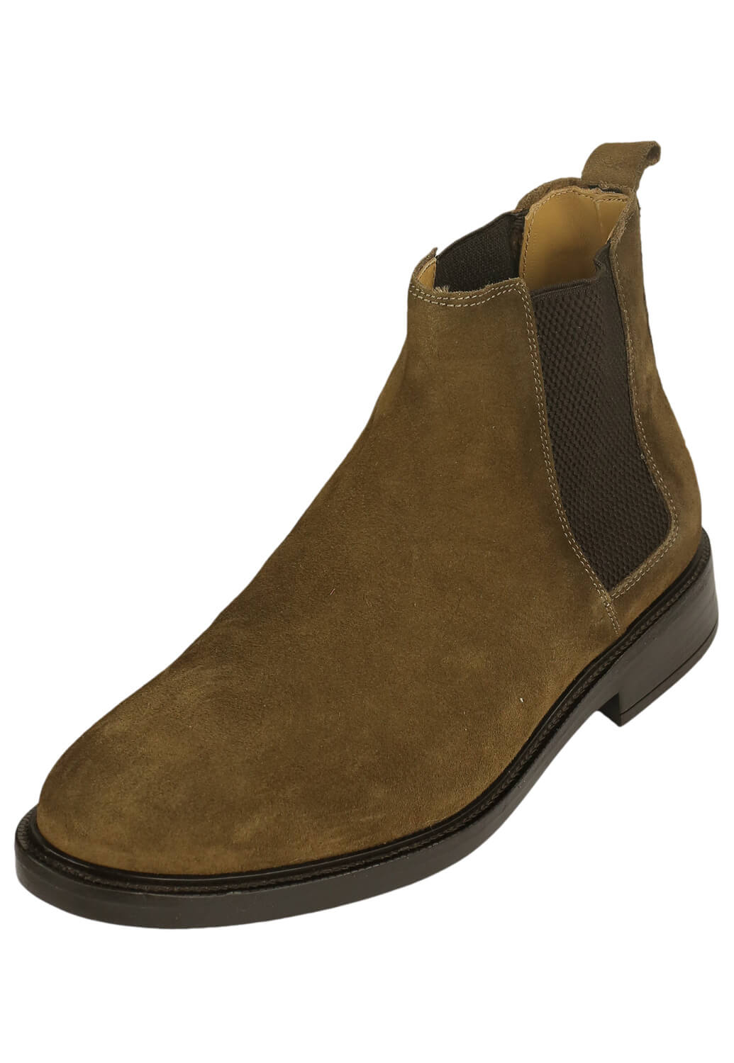 Ghete piele Massimo Dutti Perry Dark Brown