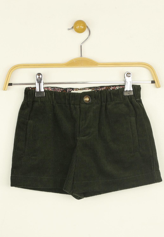 Pantaloni scurti ZARA Kelli Dark Green