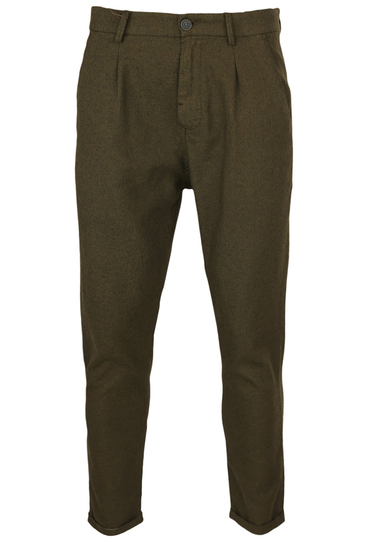 Pantaloni de stofa ZARA Carros Brown