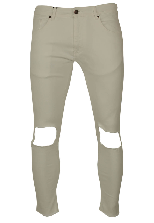 Pantaloni ZARA Noah White