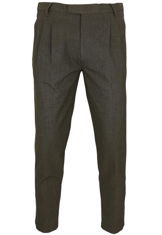 Pantaloni de stofa ZARA Ted Dark Brown