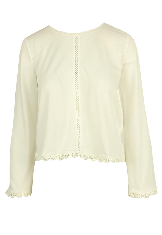 Magazin Online Haine - Bluza Bershka Hera White -Fashion-4u.Eu