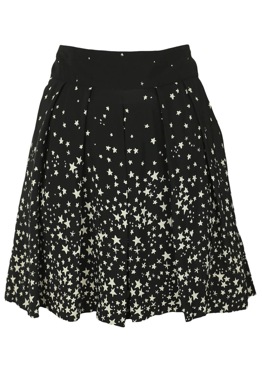 Pantaloni scurti ZARA Star Black and White