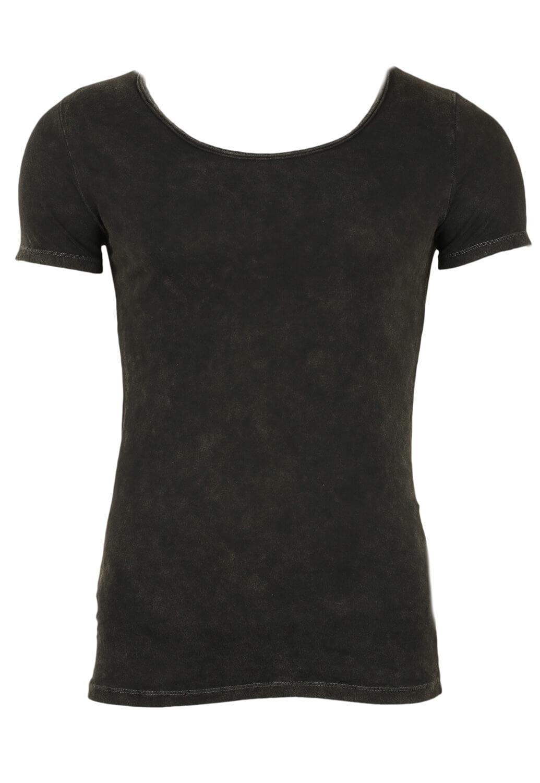 Tricou Bershka Sage Black