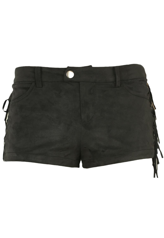 Pantaloni scurti Bershka Berta Black