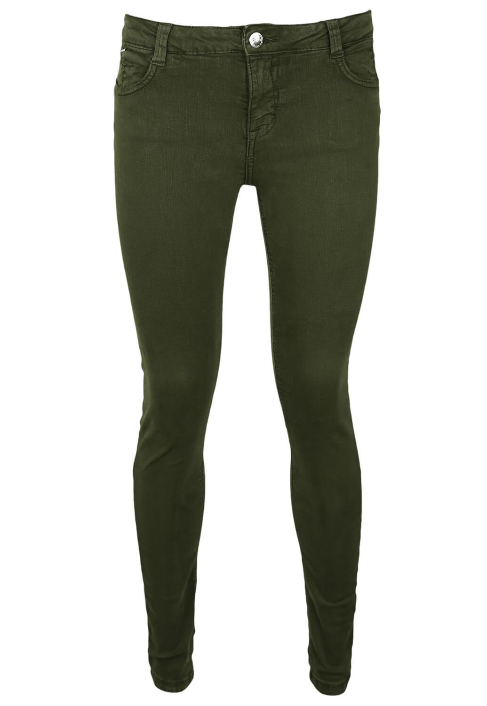 Pantaloni Bershka Abbie Dark Green