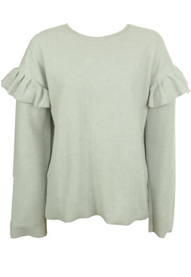 BLUZA ZARA KEIRA LIGHT GREY