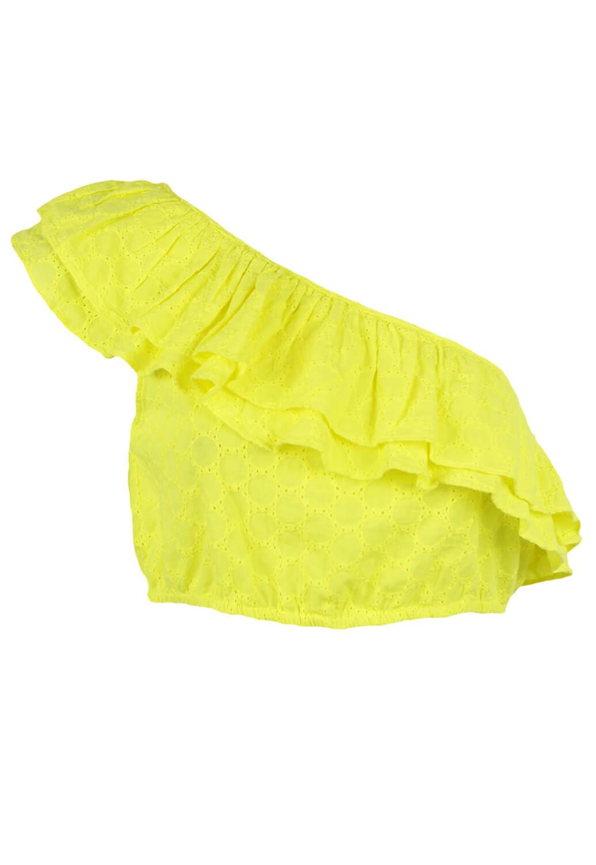 Top ZARA Shirley Yellow