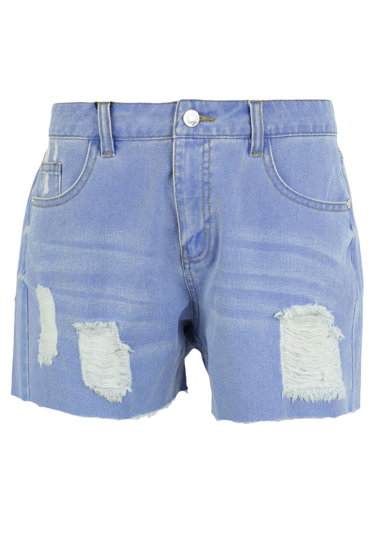 Magazin Online Haine - Pantaloni scurti Vero Moda Basic Blue -Fashion-4u.Eu