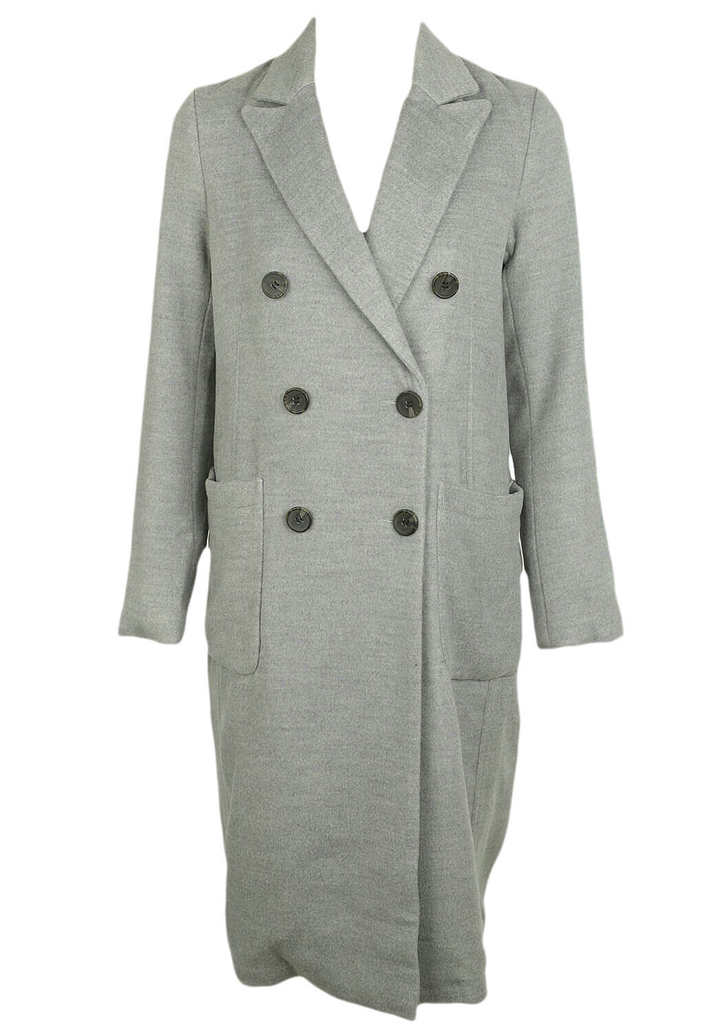 Palton Vero Moda Sally Light Grey