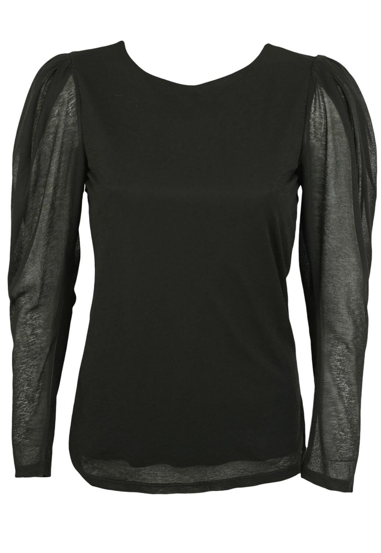 Magazin Online Haine - Bluza Vero Moda Hera Black -Fashion-4u.Eu