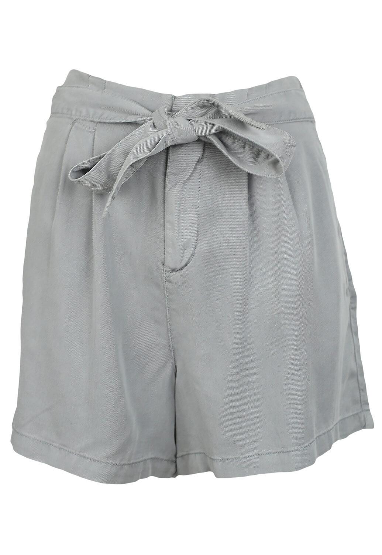 Pantaloni scurti Vero Moda Evelyn Light Grey