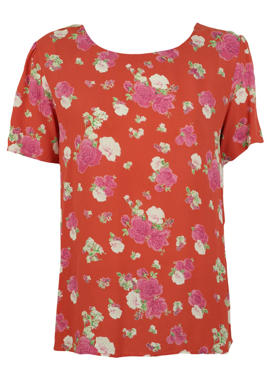 Tricou Vero Moda Floral Red