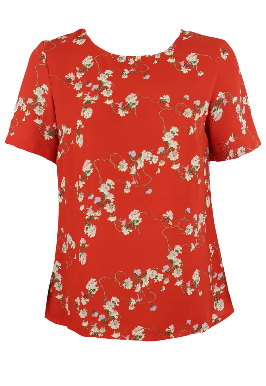 Tricou Vero Moda Fran Red