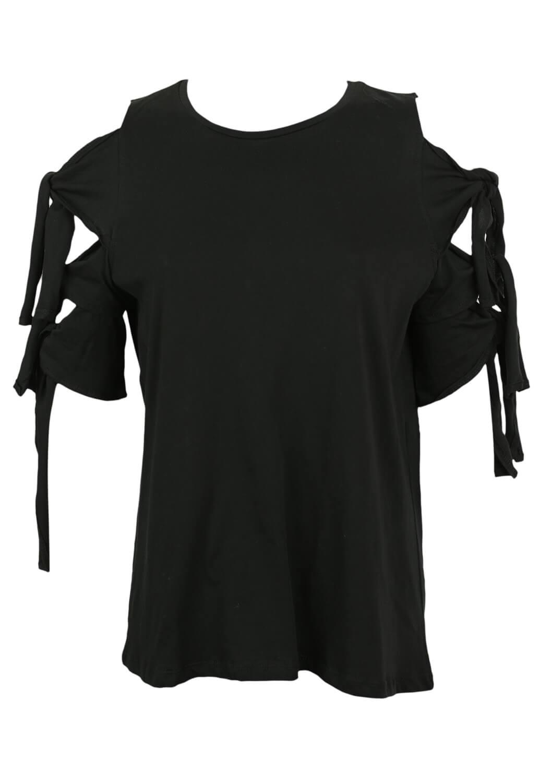 Magazin Online Haine - Tricou ZARA Xenia Black -Fashion-4u.Eu