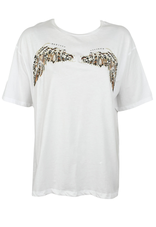 Tricou ZARA Carina White