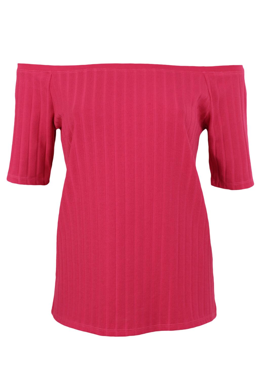 Tricou Zara Carla Dark Pink