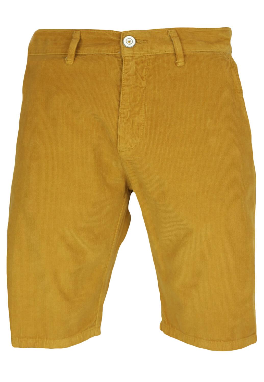 Pantaloni scurti Elvine Kade Dark Yellow