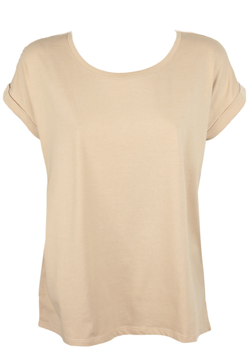 Tricou Vila Anya Light Beige