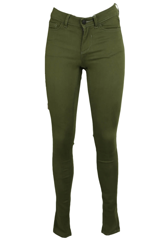 Pantaloni Vila Fay Dark Green