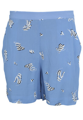 PANTALONI SCURTI VILA BERTA LIGHT BLUE