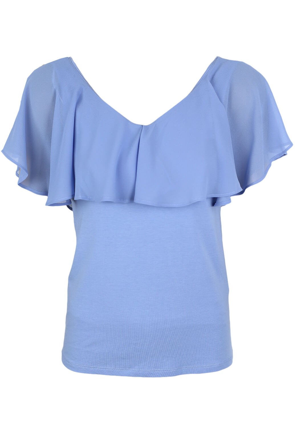Tricou Vila Florence Light Blue