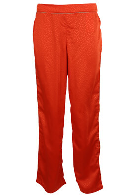 PANTALONI VILA FAY DARK ORANGE