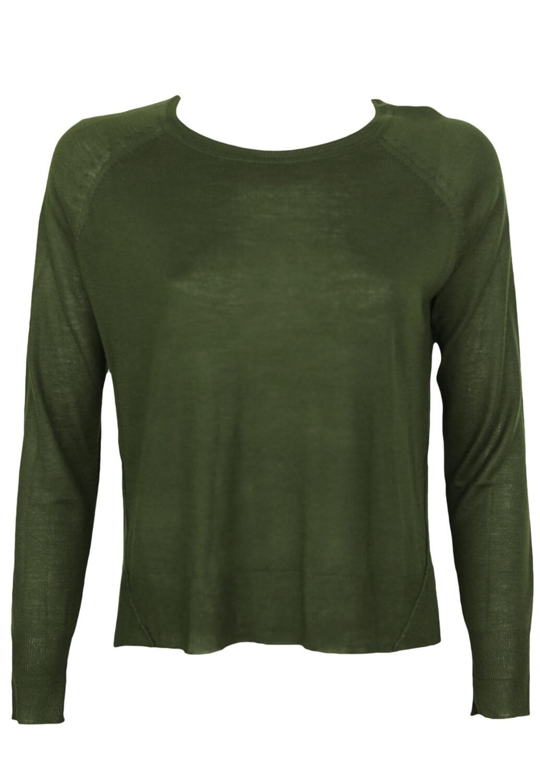 Bluza ZARA Claudette Dark Green