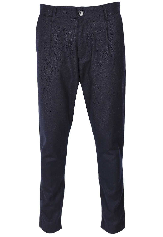 Pantaloni De Stofa Elvine Trey Dark Blue
