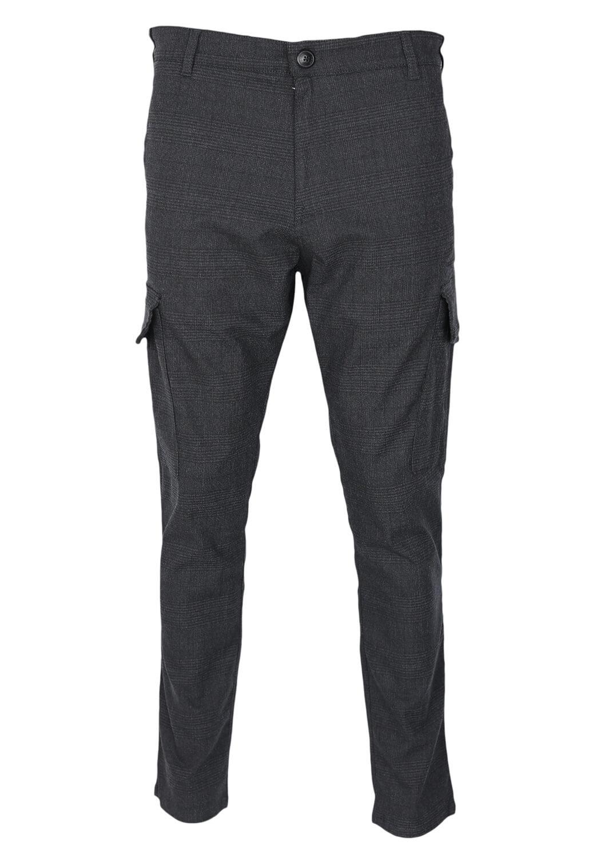 Pantaloni De Stofa Elvine Matt Dark Grey