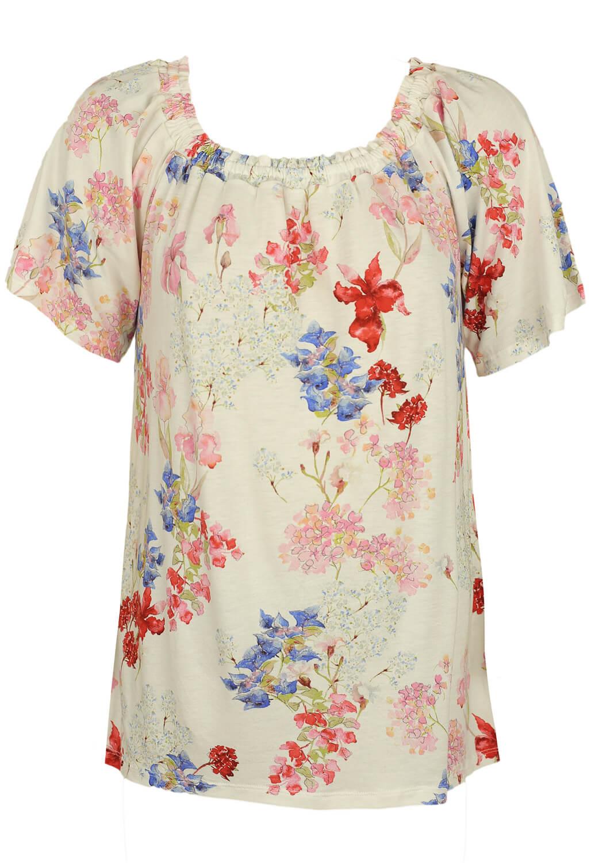 Tricou Orsay Floral White