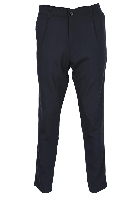 Pantaloni de stofa Elvine Aine Dark Blue