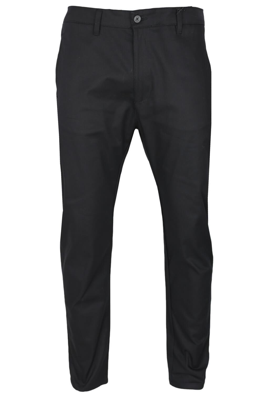 Pantaloni de stofa Elvine Lukas Black