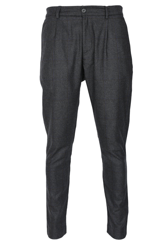 Pantaloni de stofa Elvine Andrew Dark Grey
