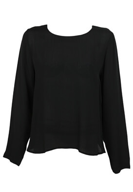 BLUZA PIECES KITTY BLACK