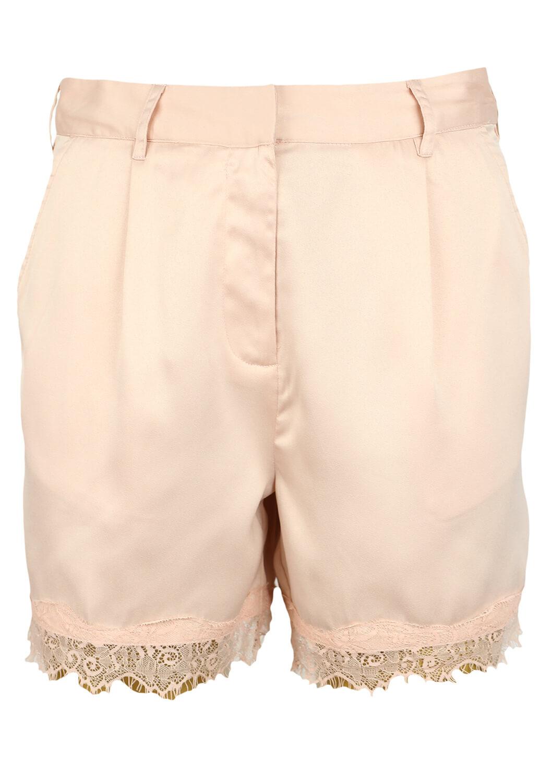 Pantaloni scurti Pieces Elle Light Pink