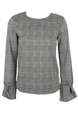 BLUZA PIECES CHRISTINE DARK GREY