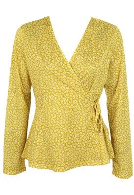 BLUZA PIECES HENRIETTE YELLOW