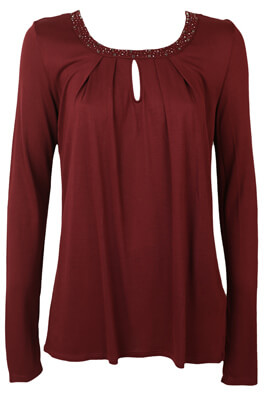 BLUZA ORSAY KEIRA DARK RED