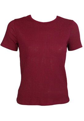 TRICOU ZARA HANNA DARK RED
