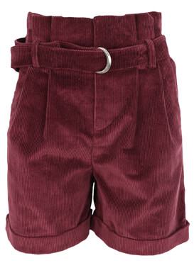 PANTALONI SCURTI ZARA GEORGIA DARK PURPLE