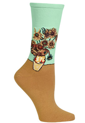 SOSETE HOTSOX FLORAL LIGHT GREEN