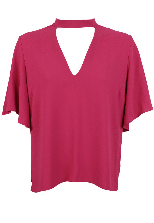 Tricou ZARA Tasha Dark Pink