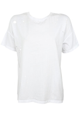 TRICOU BERSHKA HAILEY WHITE