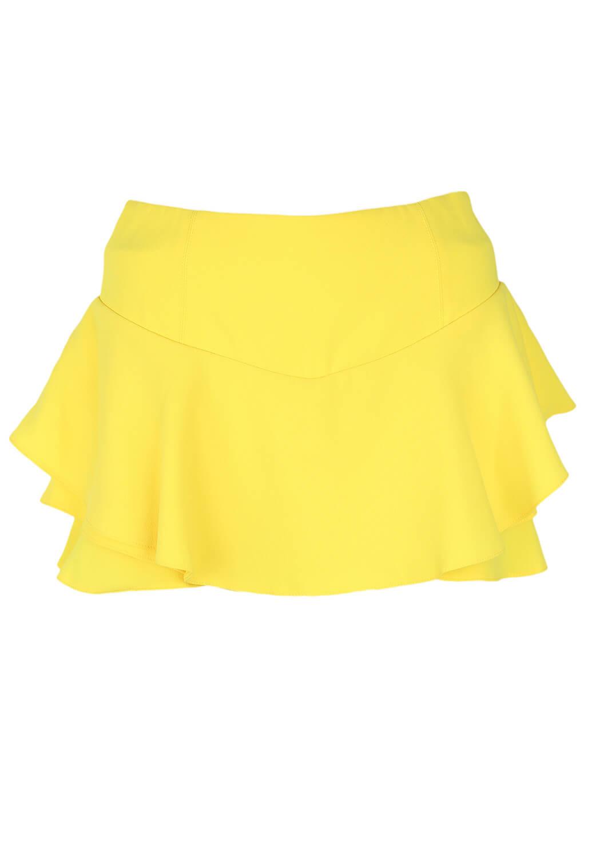 Pantaloni scurti ZARA Melissa Yellow